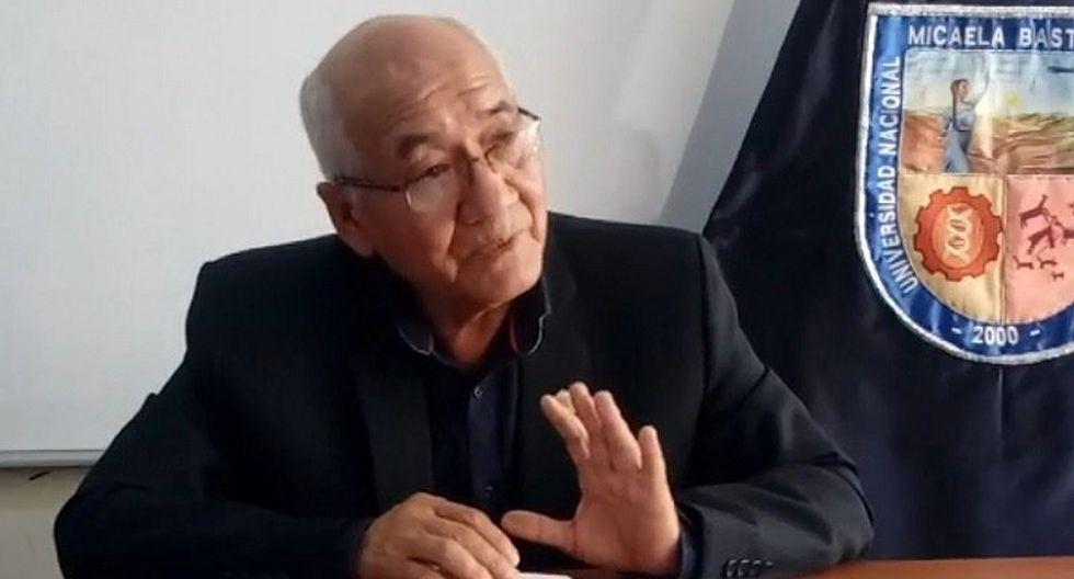 Rector de la Unamba Adolfo Prado está prófugo y con orden de captura
