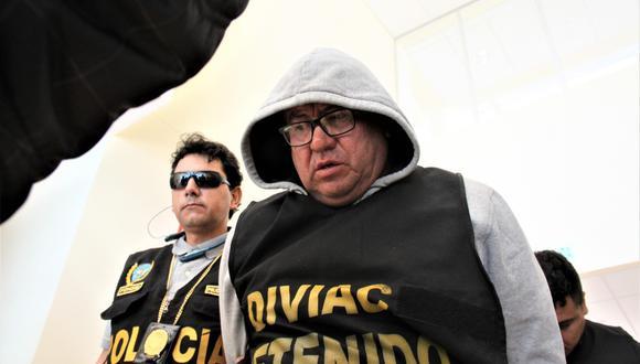 El exjefe de Inspectoría de Arequipa podría volver al penal de Socabaya  Foto: Leonardo Cuito