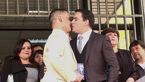 Chile: Carabinero es primer uniformado en concretar unión civil homosexual