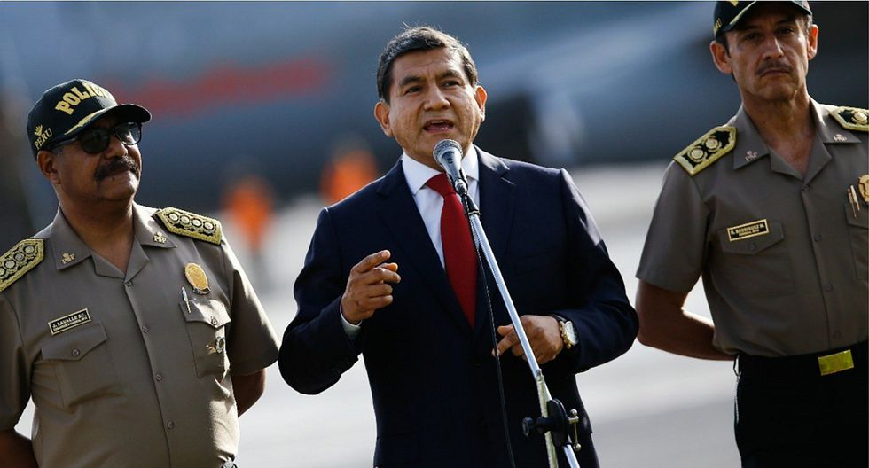 Carlos Morán pidió a opositores superar los S/ 850 millones invertidos por el Mininter en el 2019