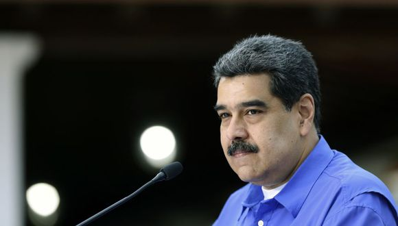 """Nicolás Maduro dice que Venezuela sufre """"una invasión"""" de coronavirus desde Colombia. (Foto: AFP)."""