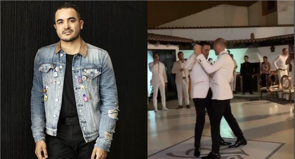Yirko Sivirich: diseñador peruano celebró su boda con su novio en ceremonia íntima (VIDEO)