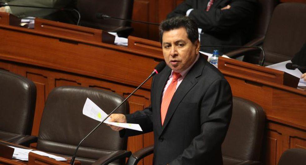 José León confirma que votos de PP fueron contra el Apra y el fujimorismo