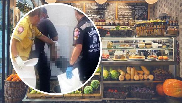 Encuentran pedazos de carne humana en restaurante vegano de Tailandia (FOTOS)