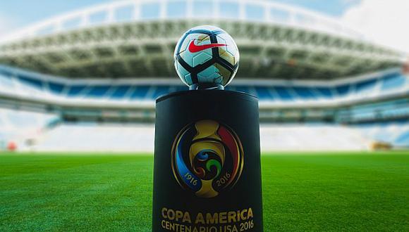 Así será el balón especial para la final de la Copa América Centenario