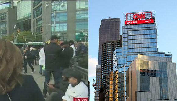 Evacuan edificio de CNN por paquete sospechoso en Nueva York