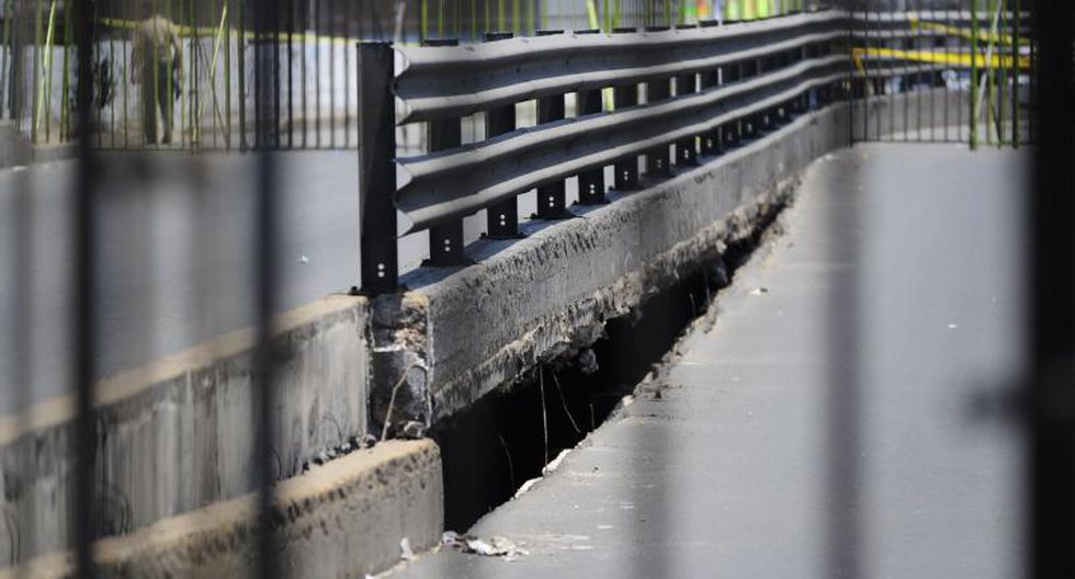 Piden demolición del puente Universitaria
