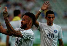 El gesto de Neymar pidiendo 'buena suerte' antes del PSG vs. Lyon (FOTO)