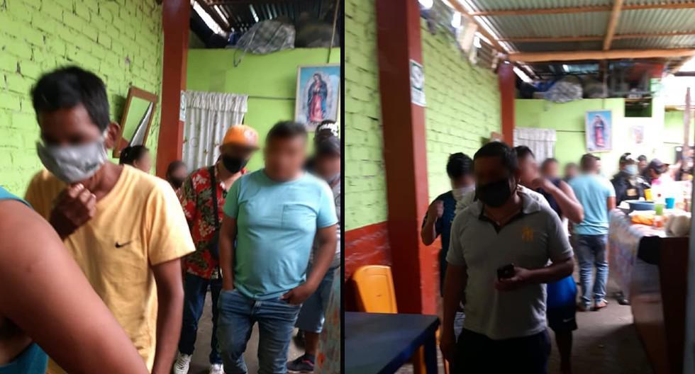 Intervienen en Sullana a 60 personas tomando alcohol en bar sin temor a contagiarse de COVID-19