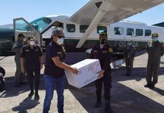 Inmunizan a policías de Moquegua con 1,170 dosis de Pfizer