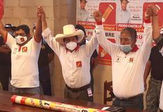 Pedro Castillo obtiene la mayoría de votos en Tacna