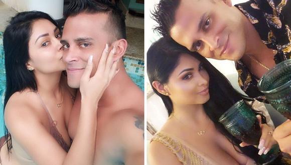 Christian Domínguez y Pamela Franco se casarán el próximo año. | Foto: Composición.