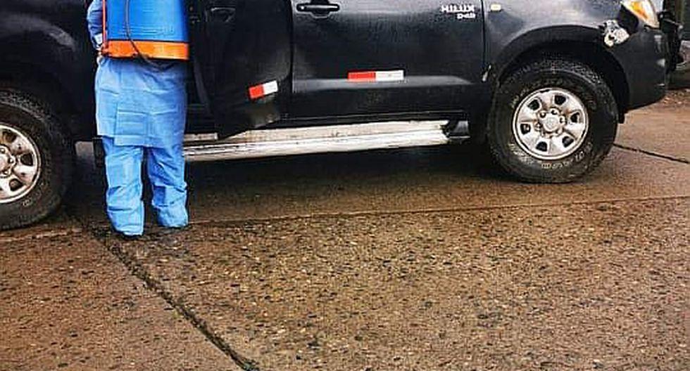 Vehículos que ingresan a Julcán serán desinfectados para evitar contagios de Covid-19