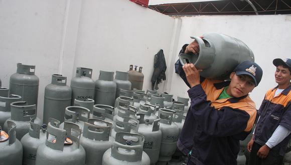 Balones de gas deben tener rótulo mostrando su precio según Osinerming