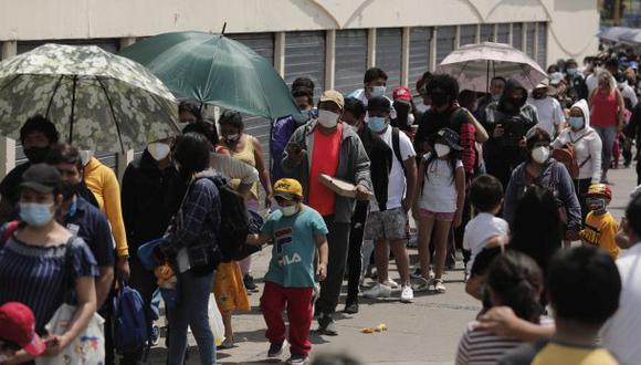 Continúa el aumento de casos de COVID-19 en Perú. (Foto referencial: El Comercio)