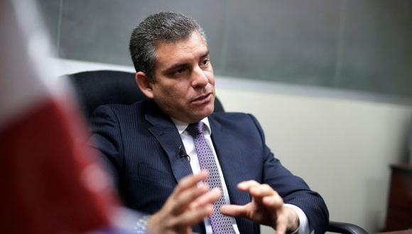 El fiscal Rafael Vela indicó que hace aproximadamente cuatro meses se espera la decisión del Poder Ejecutivo sobre el caso relacionado a Eliane Karp. (Foto: GEC)