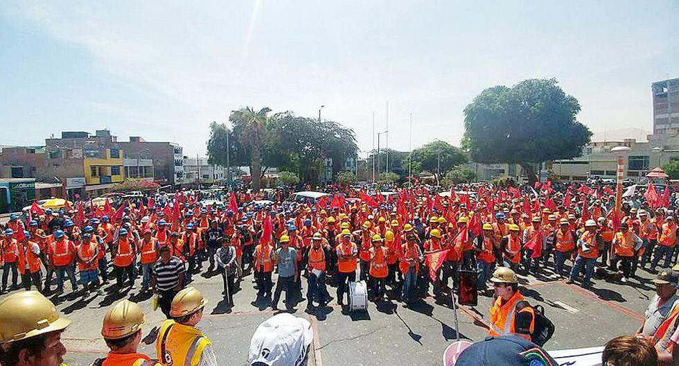 Moquegua: Con estos acuerdos mineros levantaron huelga de Southern Peru