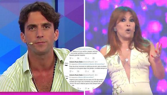 Antonio Pavón arremete en Twitter contra usuarios que lo tildan de 'misio' y 'mantenido' (VIDEO)