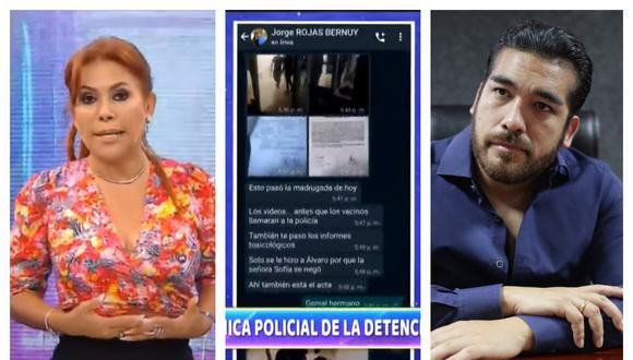 Magaly Medina asegura haber sido amenazada por familia cercana del alcalde de La Molina. Collage: Correo / GEC