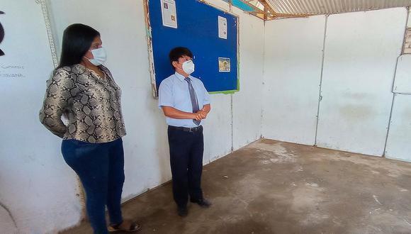 Inicia construcción de aulas en colegio José Yataco Pachas en Chincha