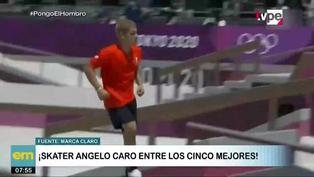 Tokio 2020: Angelo Caro entre los mejores cinco en skate olímpico