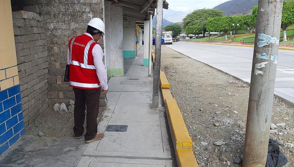 Paimas: Contraloría detecta deficiencias y trabajos no ejecutados en obra de S/ 6 millones