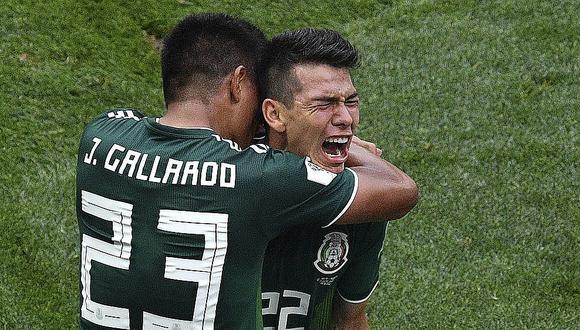 México vs Alemania: Golazo de Lozano dio triunfo a los aztecas contra campeones del mundo (VIDEO)