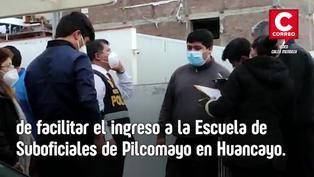 Se hacia pasar como policía para pedir S/18 mil para ingreso a escuela de Suboficiales en Huancayo