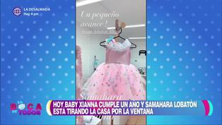 """Samahara Lobaton y su hija Xianna lucieron exclusivos vestidos de diseñador en el """"Xixi Fest"""""""