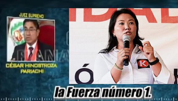 Para el 77% de peruanos Keiko Fujimori es la 'señora K', según encuesta