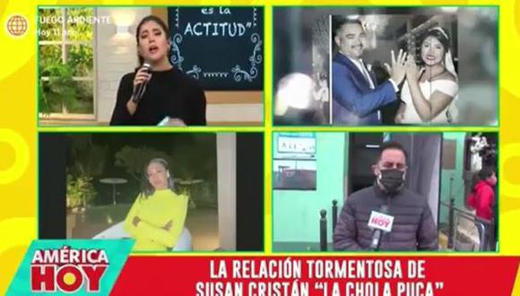 Melissa Paredes se quiebra al hablar de violencia contra la mujer. (Foto: captura de video)