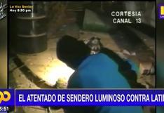 Recordemos el atentado terrorista de Sendero Luminoso contra Latina Televisión