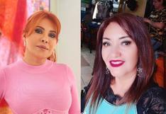 Magaly Medina y Flor de Huaraz protagonizan una tensa discusión en vivo por el 'Gringo Karl'
