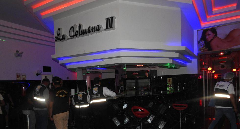 """La Municipalidad de Villa El Salvador clausuró esta madrugada el centro nocturno """"La Colmena II"""", ubicado en el Parque Industrial Mz G1 Lt 5A, el cual funcionaba como prostíbulo en el distrito. (Foto: Municipalidad de VES)"""