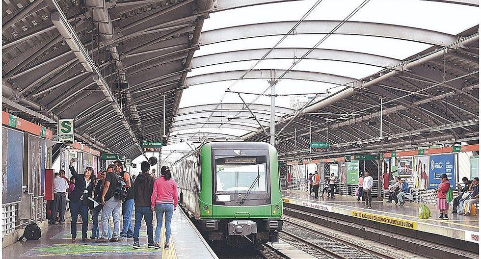 Metro de Lima: dos estaciones del tren permanecen cerradas por obras