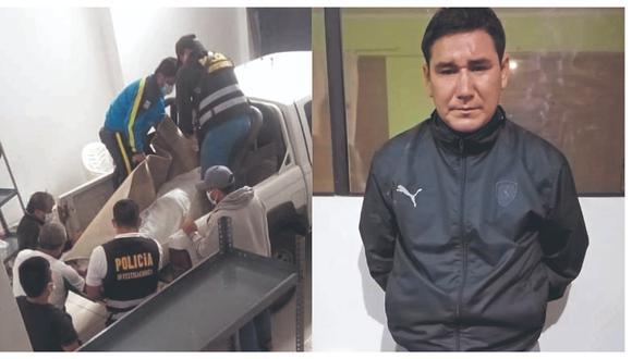 """Elmer Lucano Llanos, expareja de Fiorella Díaz, señala a la Policía que la asesinó porque la encontró """"con otro hombre en la casa""""."""