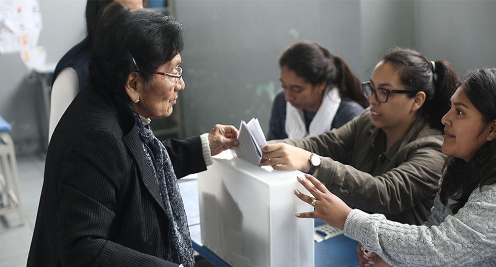 509,106 peruanos has sido elegidos miembros de mesa para estas Elecciones Congresales.