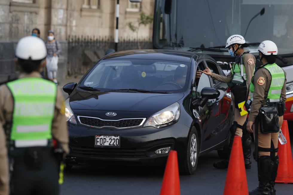 Gobierno aclaró que unidades de transporte público sí podrán circular los domingos en Lima y Callao. Fotos: Violeta Ayasta / @photo.gec