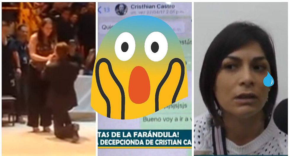 Cristian Castro: Evelyn Vela dijo esto de la pedida de mano del cantante (VIDEO)