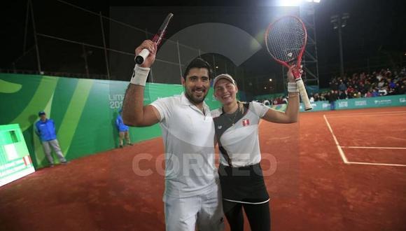Anastasia Iamachkine y Sergio Galdos ganan el bronce en dobles mixtos de tenis (VIDEO)