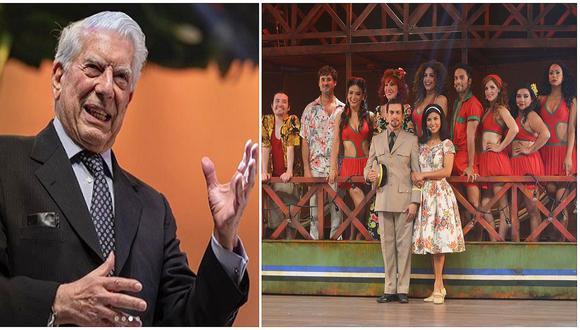 """Mario Vargas Llosa tras ver obra 'Pantaleón y las Visitadoras, el musical': """"Por fin pasó el susto"""""""