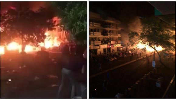Atentado en Bagdad: reportan al menos 18 muertos y decenas de heridos (FOTOS)