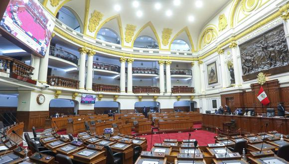 El próximo Parlamento Nacional elegido para el periodo legislativo 2021-2026 tendrá diez bancadas. (Foto: Congreso)