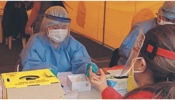 Contagios han sido confirmados tras la aplicación de diversas pruebas en Centro Temporal de Atención y en visitas domiciliarias.