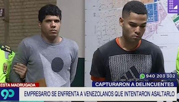 Miraflores: Empresario persiguió a delincuentes que lo asaltaron y logró capturarlos (VIDEO)