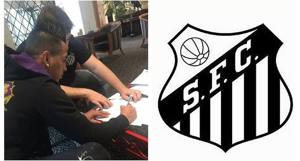Christian Cueva firmó por Santos y será presentado en breve  (VIDEO)