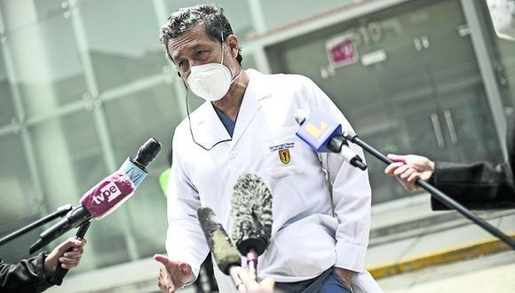 El Consejo Universitario de la UPCH separó a Germán Málaga como investigador principal del ensayo clínico de Sinopharm tras conocerse que se vacunó irregularmente contra el COVID-19 a diversos funcionarios. (Foto: Joel Alonzo/GEC)