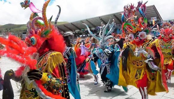 Es una de las más vistosas danzas en fiestas populares. (Foto: Referencial)