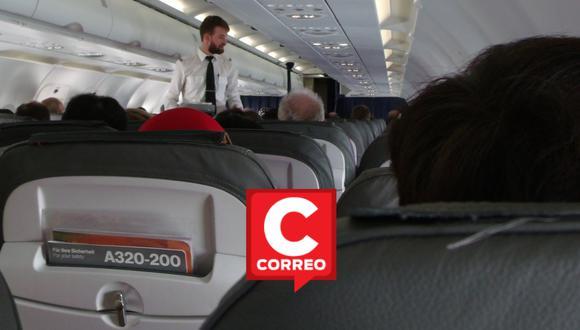 Un video viral de TikTok muestra cómo un auxiliar de vuelo en Estados Unidos encaró a unos pasajeros maleducados y los regañó por no obedecer el reglamento a bordo.   Crédito: Pixabay / Referencial