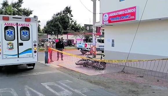 Asesinan a balazos a joven en la urbanización Garatea, Nuevo Chimbote.